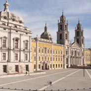 La elegancia y delicadeza del Palacio de Mafra