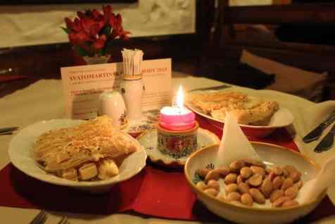 Aperitivos en Moravska Restaurance