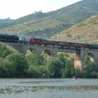 Comboio histórico de volta ao Douro