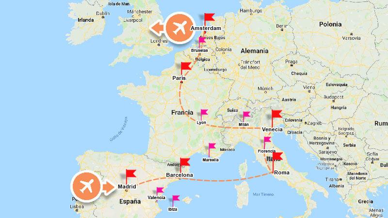 Cómo planear tu primer viaje a Europa