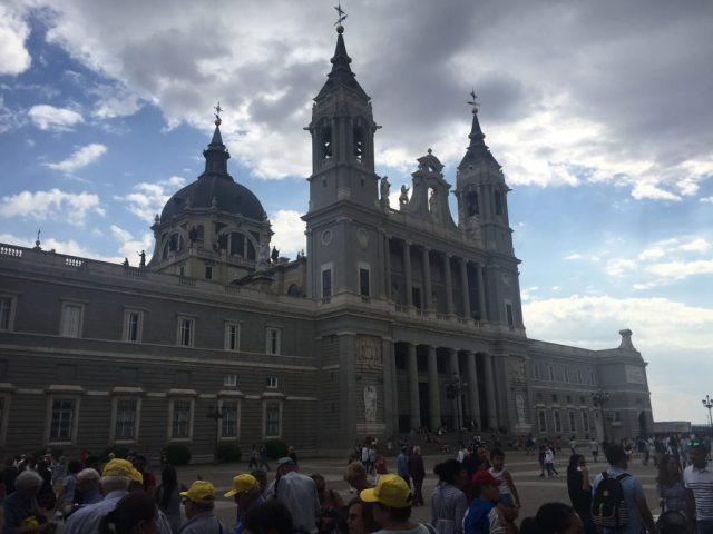 Catedral de Almudena, Madrid. España