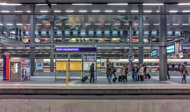 estacion central de tren en Berlin