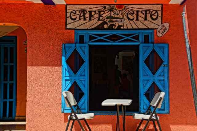 Cafe en Isla Mujeres