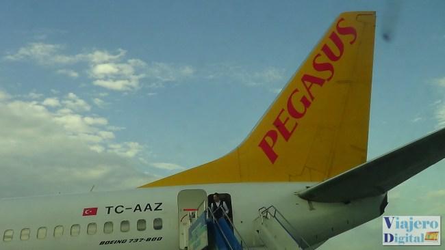Avión de Pegasus