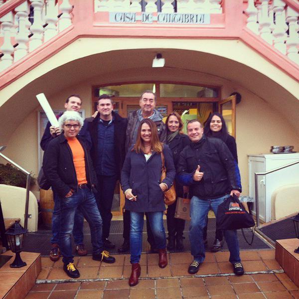 Grupo de comensales en #cocidoday de Barcelona
