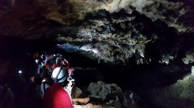 Interior Cueva de la Ramera - Foto: Luis Fernández