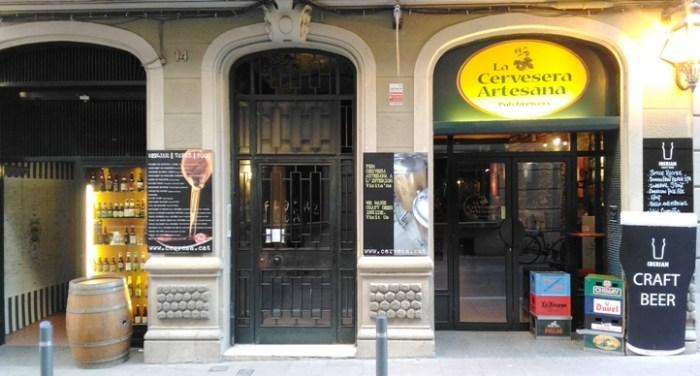 La Cervesera Artesana, en Barcelona