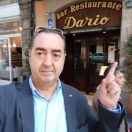 Nuestro cocido leader Luis Fernández en Casa Darío