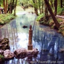 Nacimiento del Río Ebro en Fontibre (Cantabria)