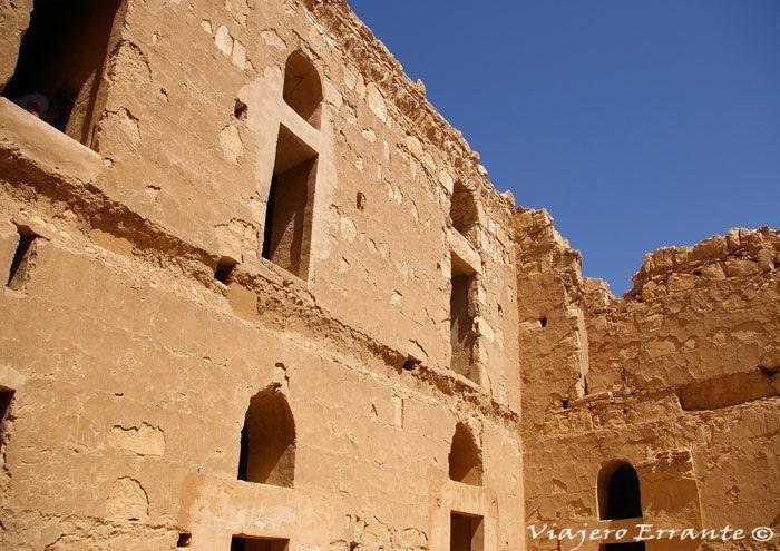 Patio interior de Qasr El- Kharana