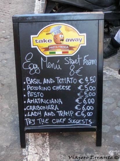 comer en roma
