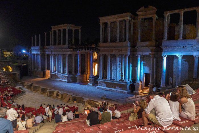 Boda Teatro Romano Merida : Una noche en el teatro romano de mérida viajero errante