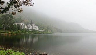 Kylemore Abbey, un castillo de cuento en Irlanda.