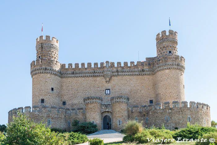 Castillo de manzanares el real en madrid viajero errante - Polideportivo manzanares el real ...