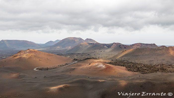 Visitar Timanfaya - Las montañas de fuego del Parque Nacional.
