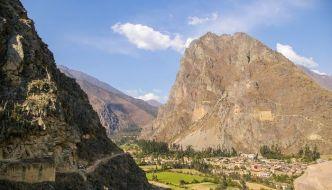 Ruinas de Ollantaytambo, un alto antes de Machu Picchu.