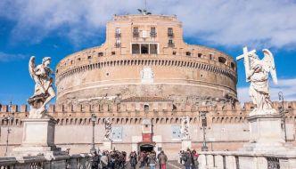 Castillo de Sant'Angelo o Mausoleo de Adriano – Roma.