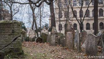 Cementerio judío de Praga, uno de los más bonitos del mundo.