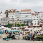Feria medieval de Betanzos, Coruña.
