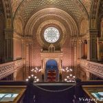 Sinagoga Española, la más bella de Praga.