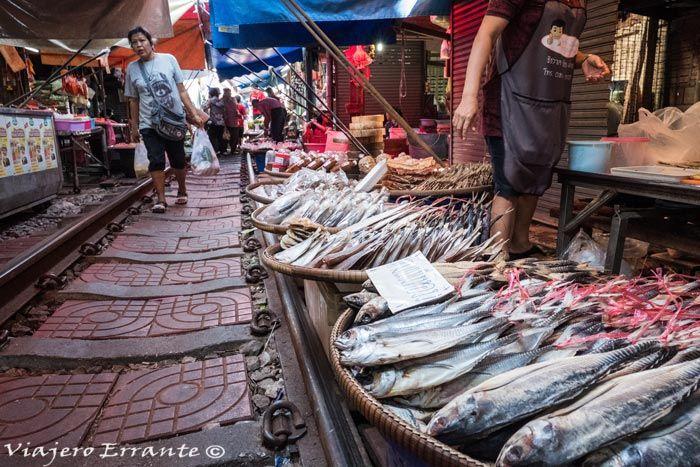 mercado de Mae Klong