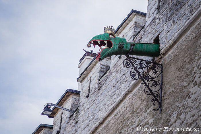 Detalle del Ayuntamiento de Tallin