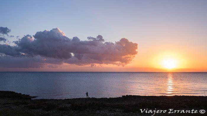 puesta de sol en cuba