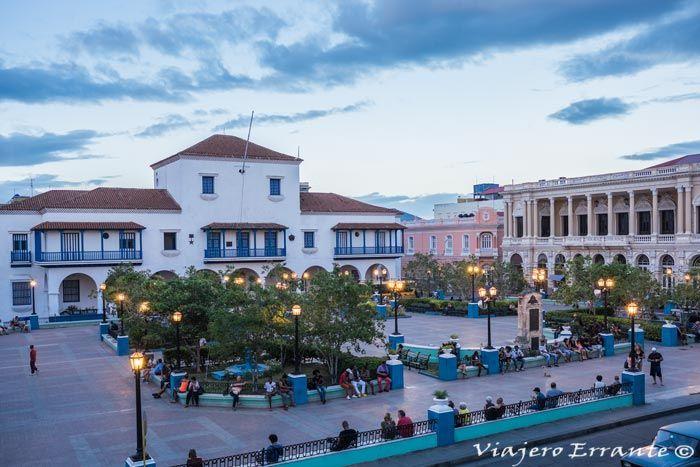 Parque Céspedes Santiago de Cuba