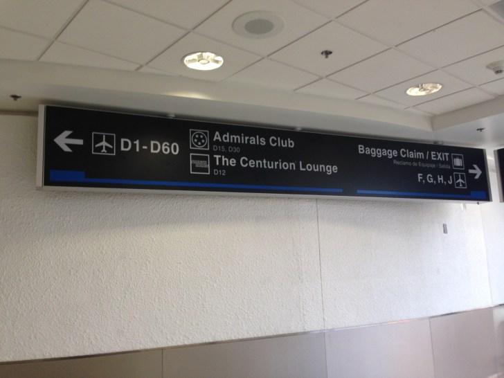 Sala VIP lounge oneworld en Terminal E de Miami - MIA-01
