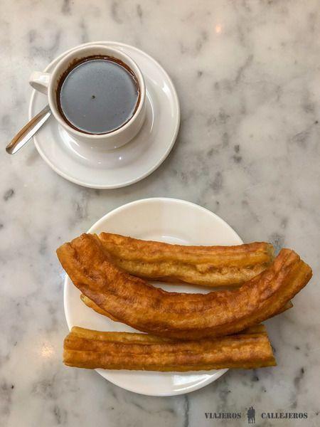 Churros con chocolate en San Ginés