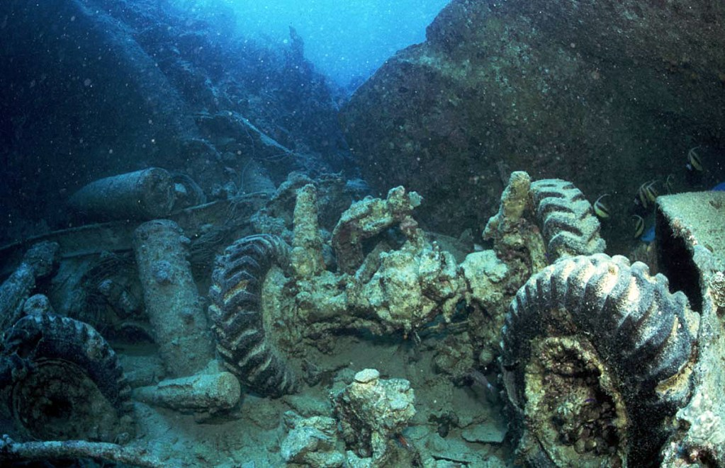 Thistlegorm shipwreck, Red Sea