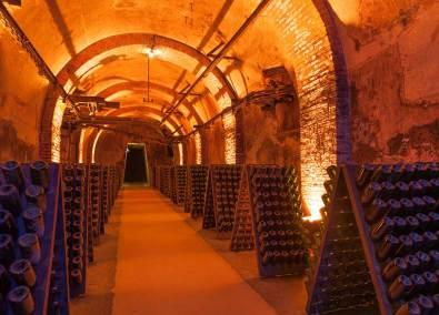 Champagne Francês da cidade de Reims