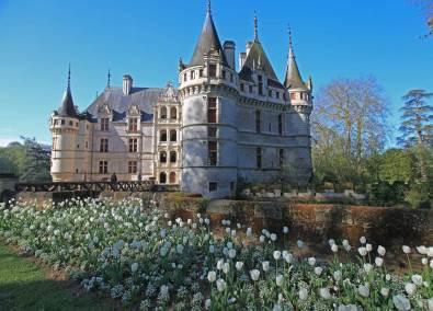 Azay le Rideau o Castelo numa ilha