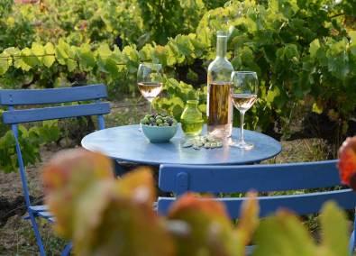 Vinho rosado de Provence