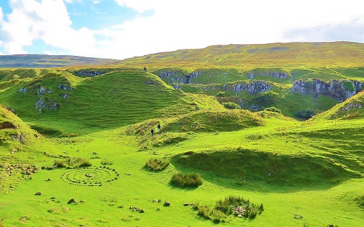 Fairy Glen - Skye