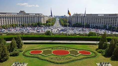 vista desde el parlamento