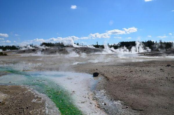 Géiseres de Yellowstone National Park