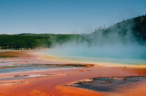 Visitar los Geysers y fuentes termales de Yellowstone National Park