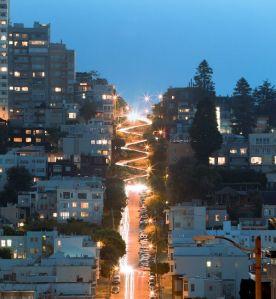 Cómo visitar Lombard Street en San Francisco