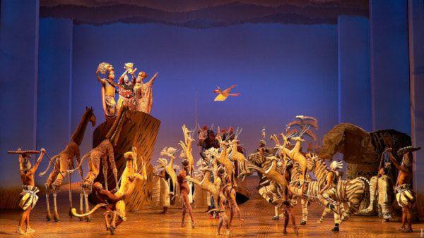 Musical El Rey León en Nueva York