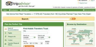 TripAdvisors hoteles