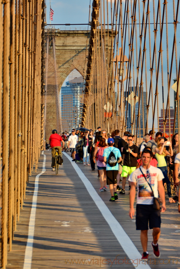 Puente de Brooklyn desde Manhattan 5