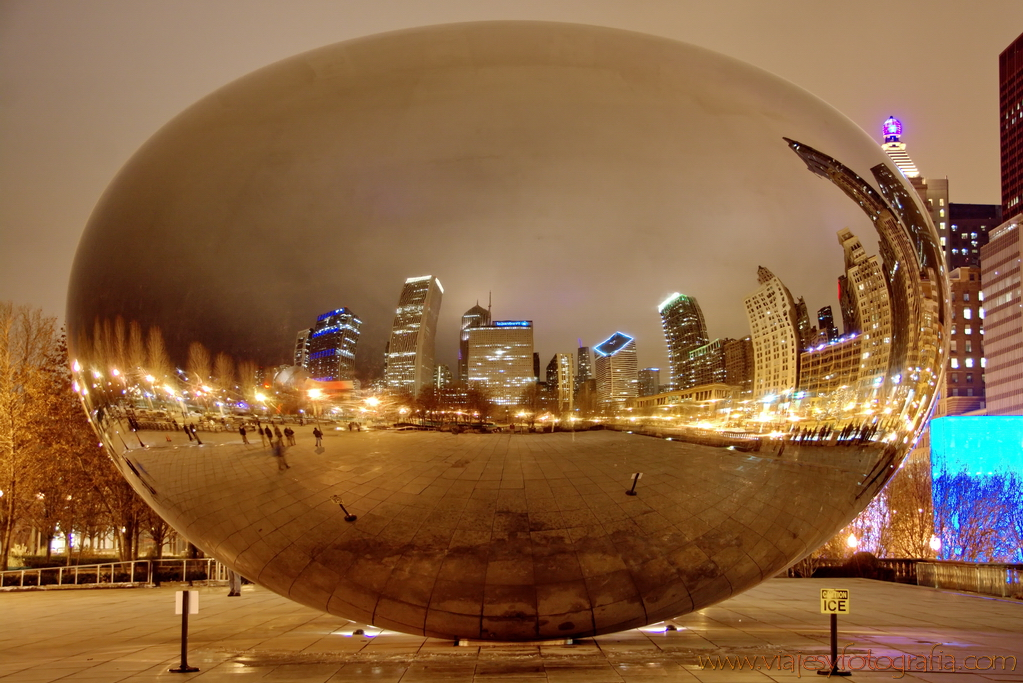 Chicago The Bean 7
