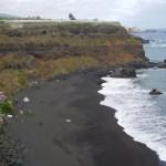 Playa Bollulo (arena negra)