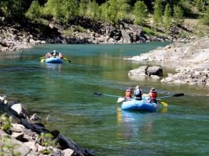 Rafting Montana