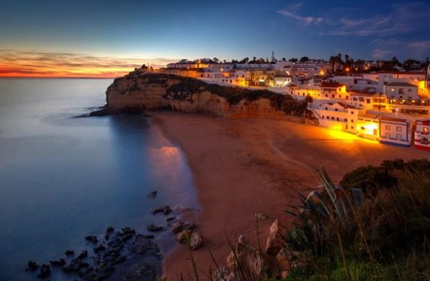 Playa de Carvoeiro (Portugal)