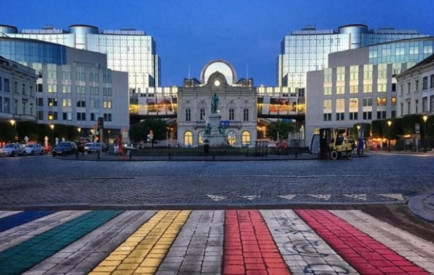 Plaza Luxemburgo bruselas