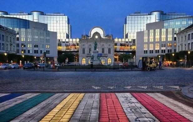 Plaza Luxemburgo bruselas
