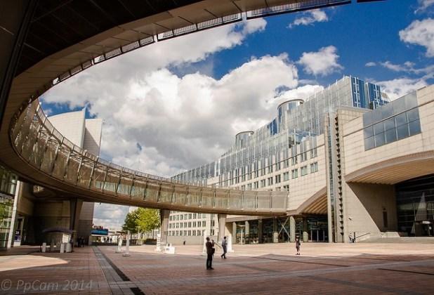 Plaza del Parlamento europeo