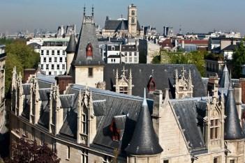 Casas típcas de Le Marais